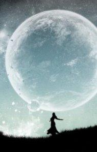 full moon woman - artist unknown